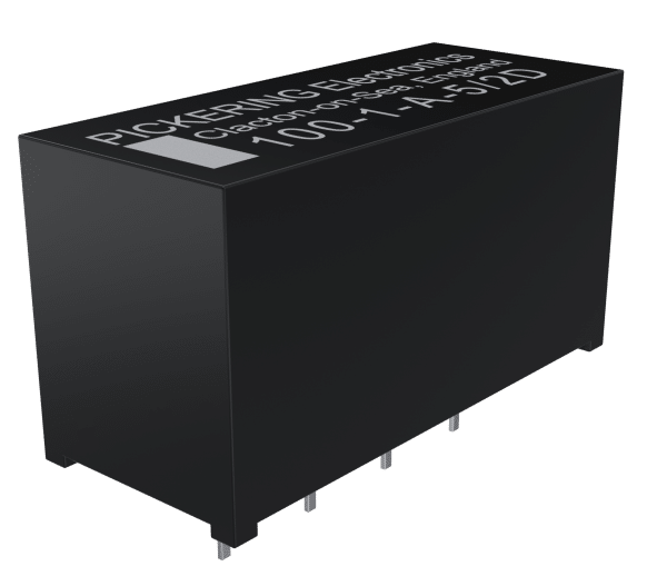 Series 100 low coil power thermal emf relays