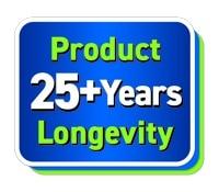 25 Years Product Longevity